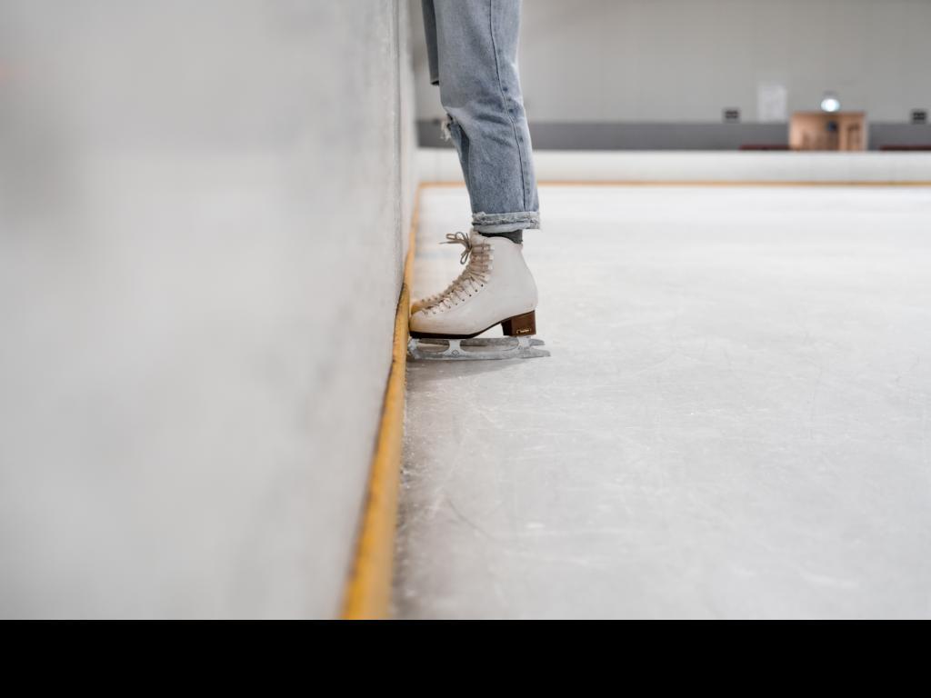 Synthetic ice skating rinks for skating in any season